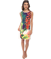 Hale Bob - Cosmopolitan Jungle Shift Dress w/ Zipper Detail