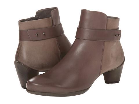 ECCO Sculptured 45 Ankle Boot - Dark Clay/Dark Clay