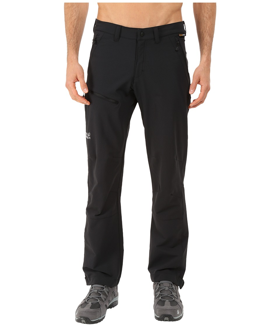 Jack Wolfskin Activate Pants Normal Black Mens Casual Pants