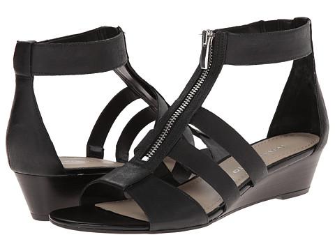 Franco Sarto Unveil (Black Leather) Women's Shoes