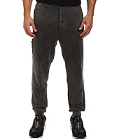 Members Only - French Terry Jogger Pant w/ Vegan Leather Side Pocket