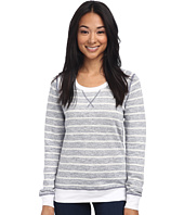 Three Dots - L/S Stripe Sweatshirt
