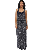 Three Dots - Drawstring Maxi Dress