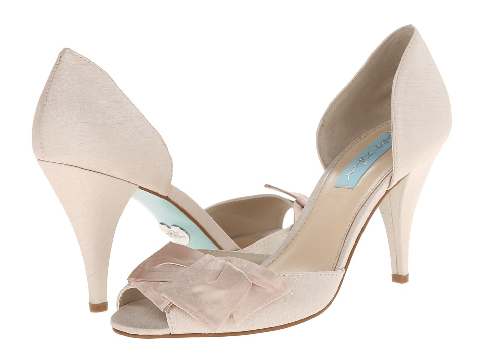 Blue by Betsey Johnson Lily (Champgane Satin) High Heels