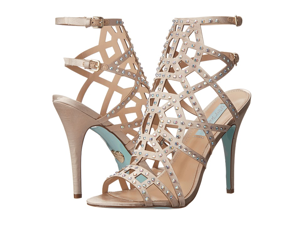 Blue by Betsey Johnson Carat (Champagne Satin) High Heels