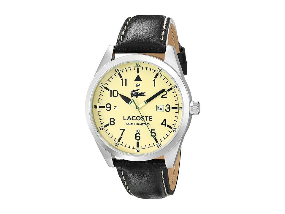 Lacoste 2010782 MONTREAL Black/Parchment Watches