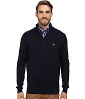 Lacoste - Quarter Zip Cotton Sweater