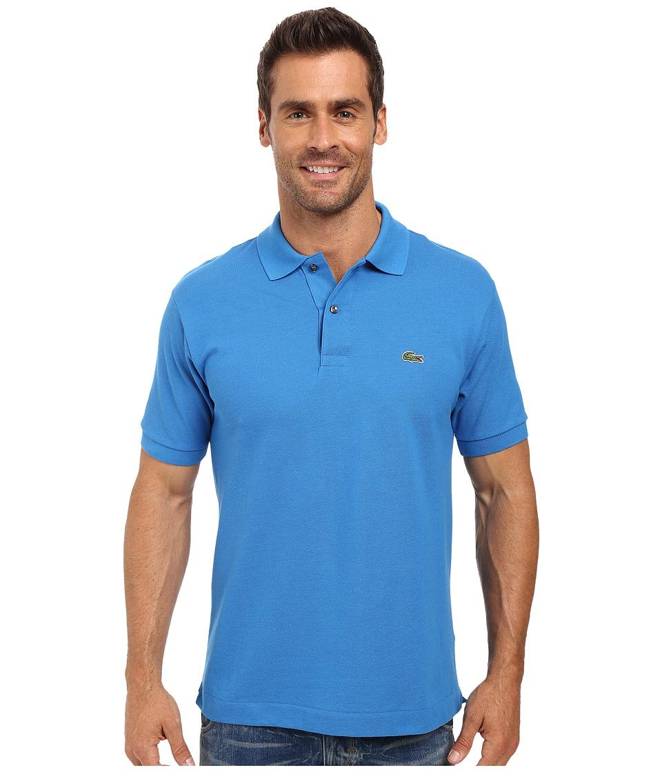 Lacoste - L1212 Classic Pique Polo Shirt (West Indies Blue) Men