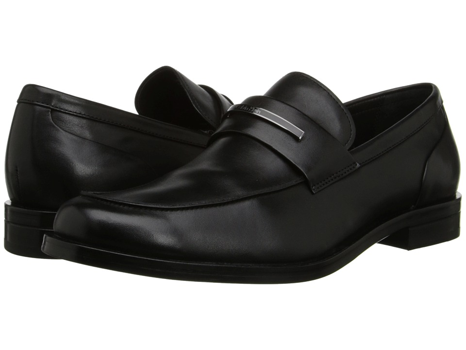 Calvin Klein - Orland (Black Leather) Men