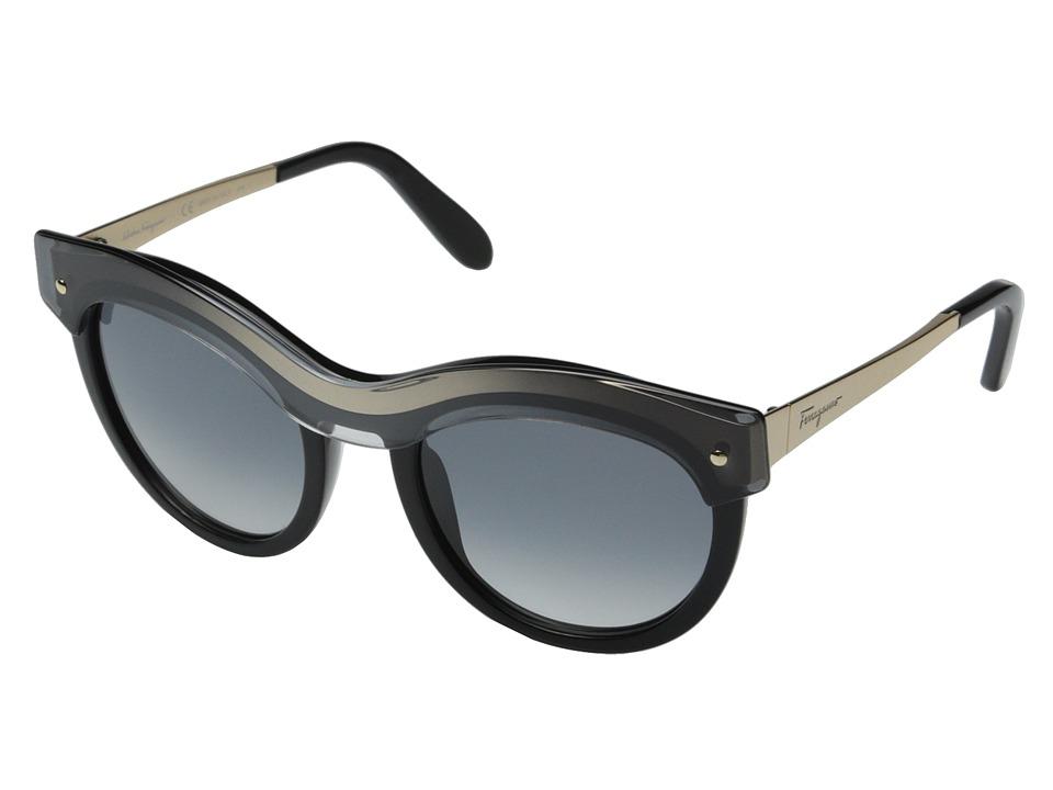 Salvatore Ferragamo SF774S Black Gradient Fashion Sunglasses
