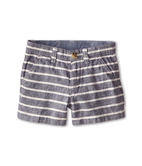 Lacoste Kids Striped Gabardine Bermuda Short (Little Kids/Big Kids)
