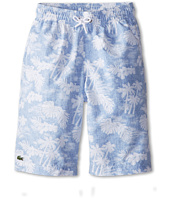 Lacoste Kids - Palm Tree Printed Swim Trunk (Little Kids/Big Kids)