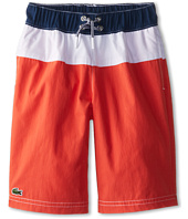 Lacoste Kids - Bold Stripe Swim Trunk (Little Kids/Big Kids)