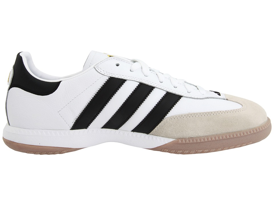 adidas samba white black leather womens trainers