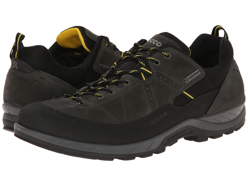 ECCO Sport Yura GTX Black/Dark Shadow Mens Lace up casual Shoes