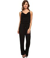 Calvin Klein - Cowl Jumpsuit w/ Hardware