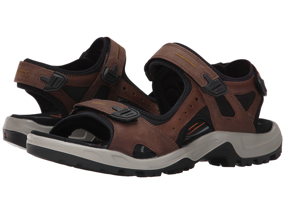 ECCO Sport Yucatan Sandal (Espresso/Cocoa Brown/Black) Men