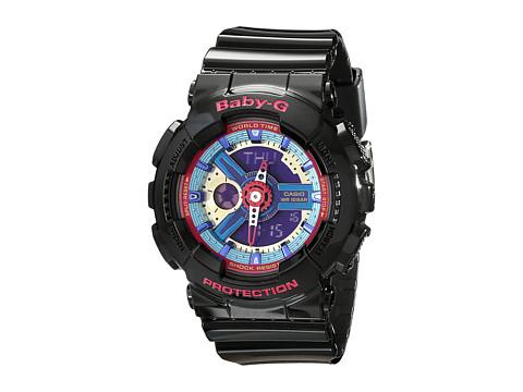 G-Shock BA112 - Black w/ Multicolor Dial