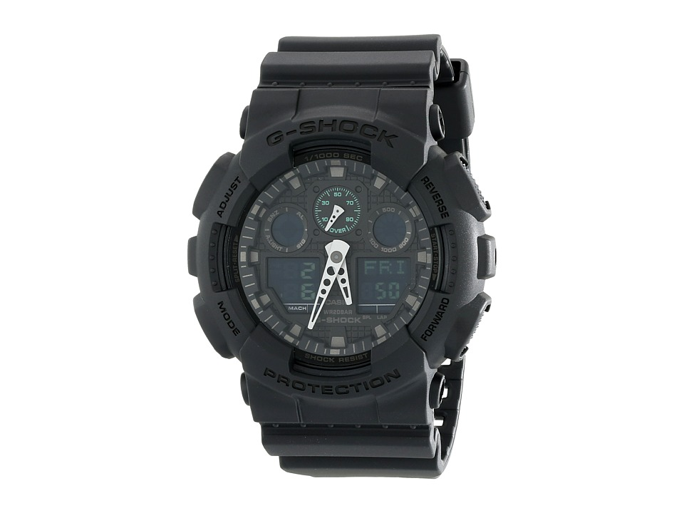 G Shock GA100MB Black Watches