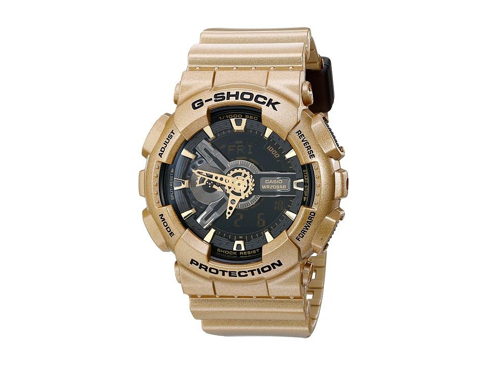 G Shock GA110GD Gold Watches