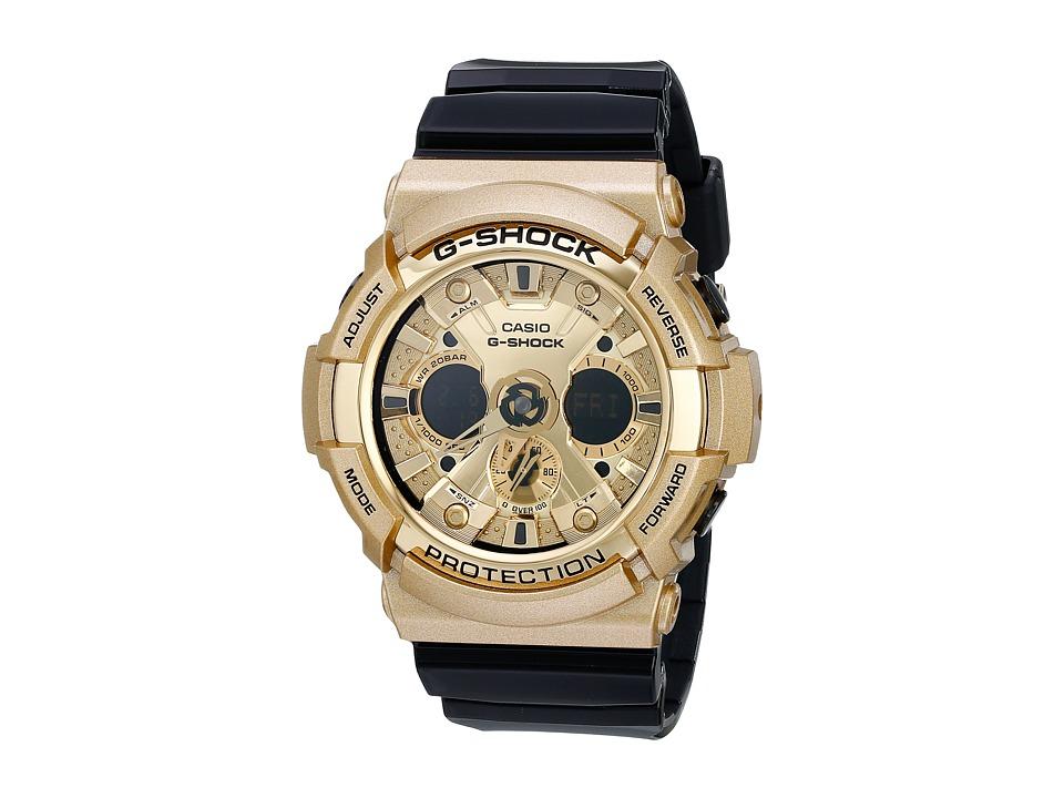 G Shock GA200GD Gold Watches