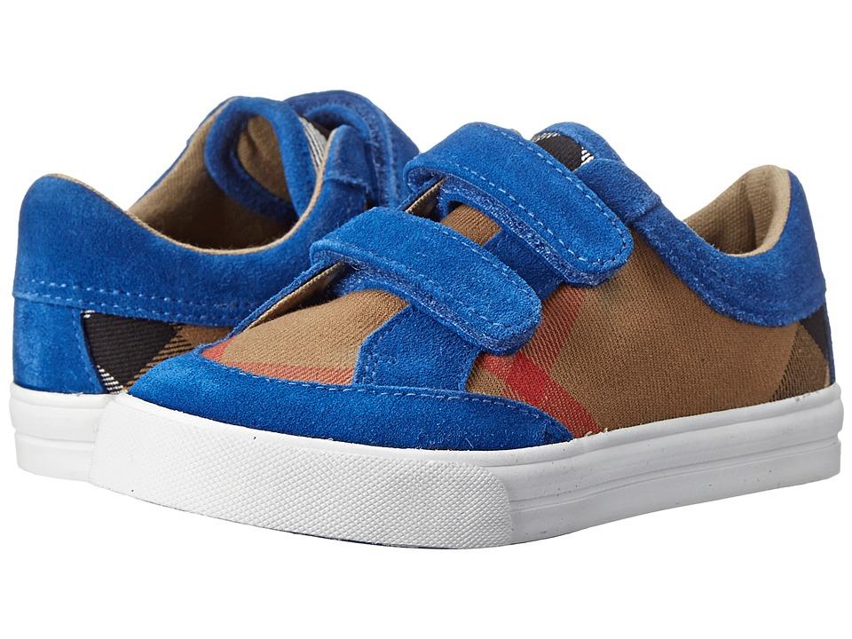 Burberry Kids K1 Mini Heacham HC Toddler Bright Canvas Blue Boys Shoes