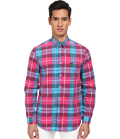 LOVE Moschino - Plaid Long Sleeve Button-Up Shirt