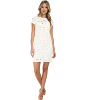 Rebecca Taylor - Short Sleeve Die Cut Dress