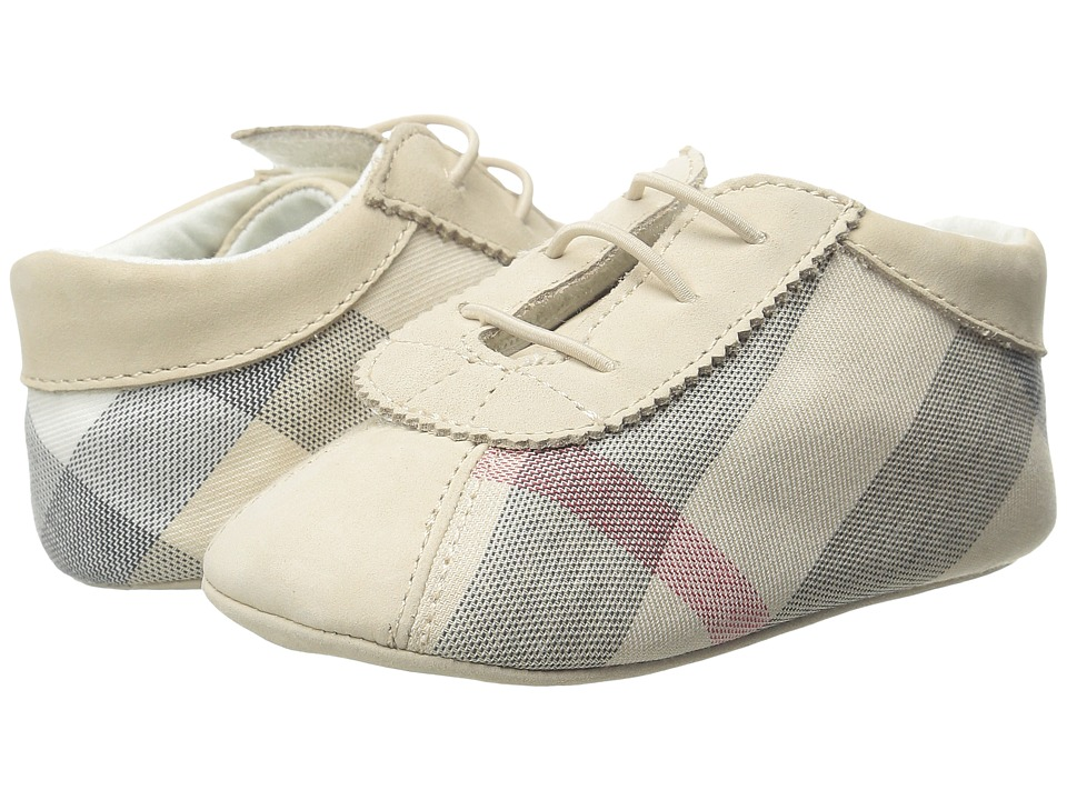 Burberry Kids - N1 Bosco (Infant/Toddler) (Stone) Girls Shoes