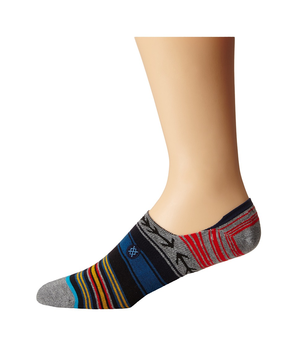 Stance Dusk No Show Blue Mens Crew Cut Socks Shoes