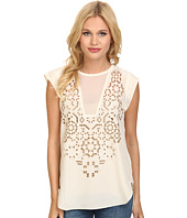 Rebecca Taylor - Sleeveless Mosaic Cutout Top