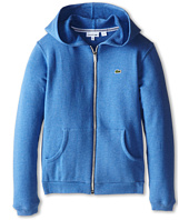 Lacoste Kids - Heathered Full Zip Sweatshirt (Infant/Toddler/Little Kids/Big Kids)