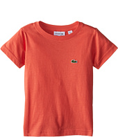 Lacoste Kids - S/S Classic Crewneck Jersey Tee (Toddler/Little Kids/Big Kids)