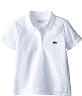 Lacoste Kids - S/S Eyelet Polo (Toddler/Little Kids/Big Kids)