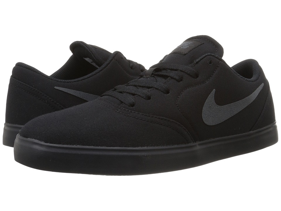 Nike SB Check Canvas Black/Anthracite Mens Skate Shoes