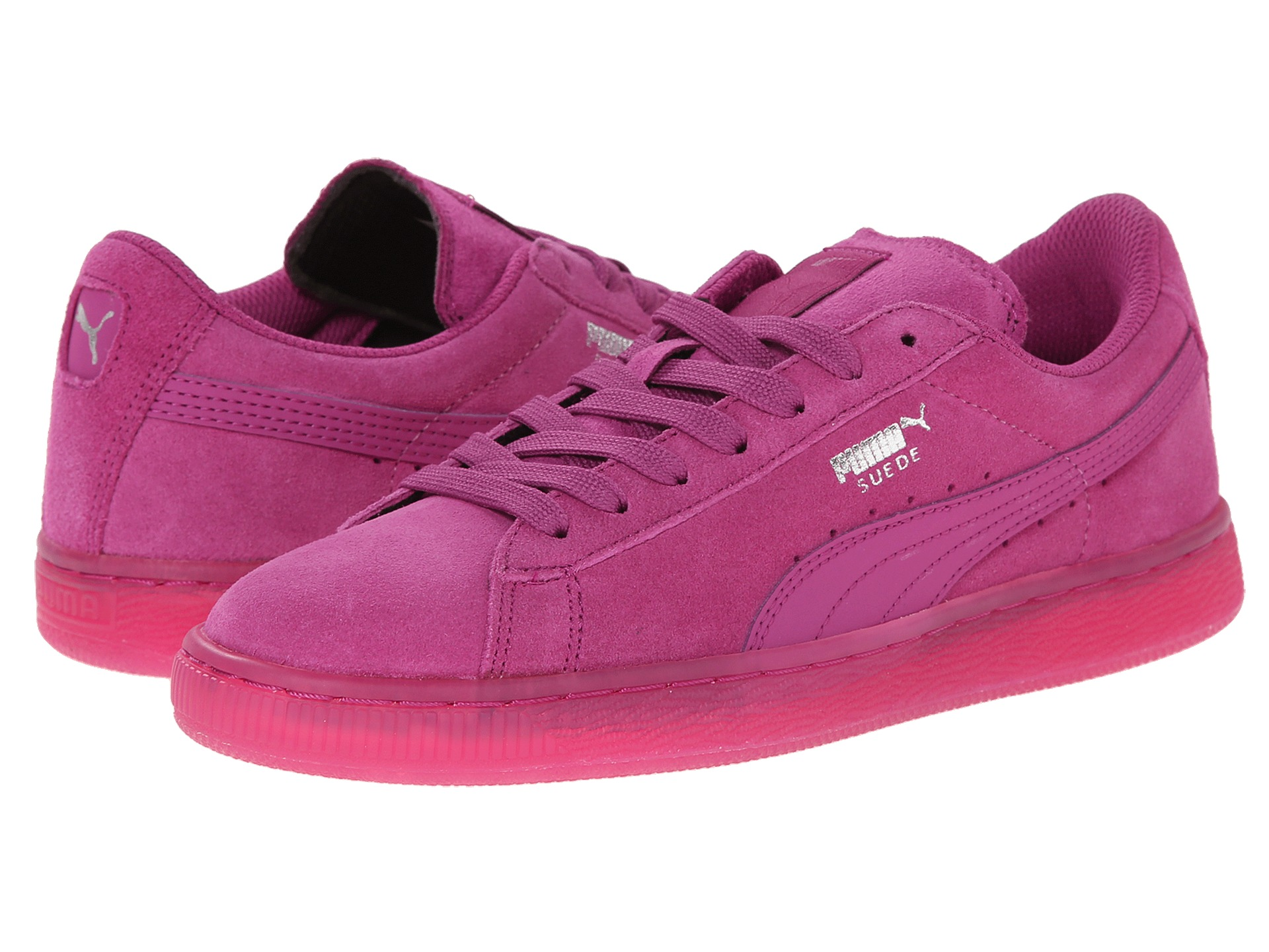 buy pink suede pumas puma trinomic white men fine shoes. Black Bedroom Furniture Sets. Home Design Ideas