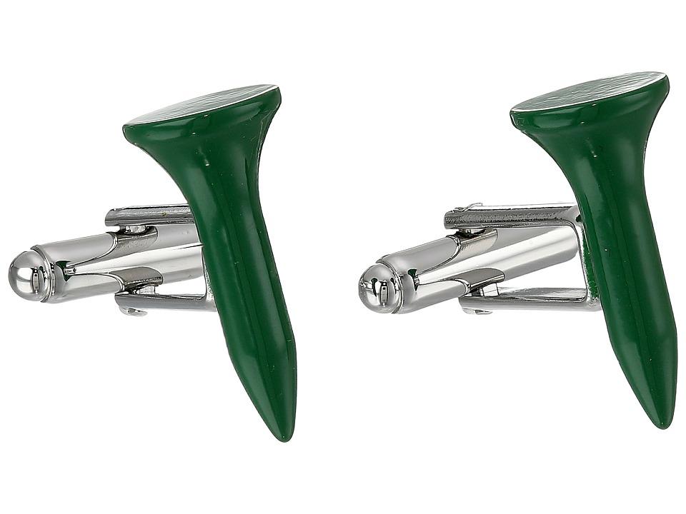 Cufflinks Inc. Golf Tee Cufflinks Green Cuff Links