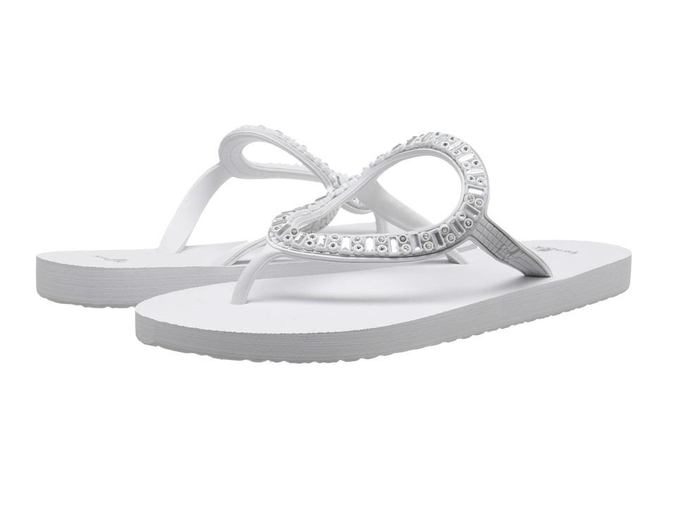 Sanuk - Ibiza Monaco (White/Silver) Women