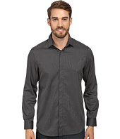 Perry Ellis - Slim Fit Non Iron Narrow Stripe Pattern Shirt