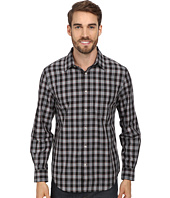 Perry Ellis - L/S Plaid Pattern Shirt