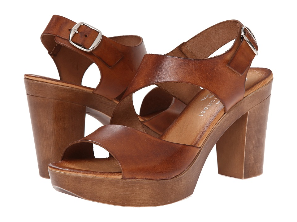 Eric Michael Ginger (Brown) High Heels