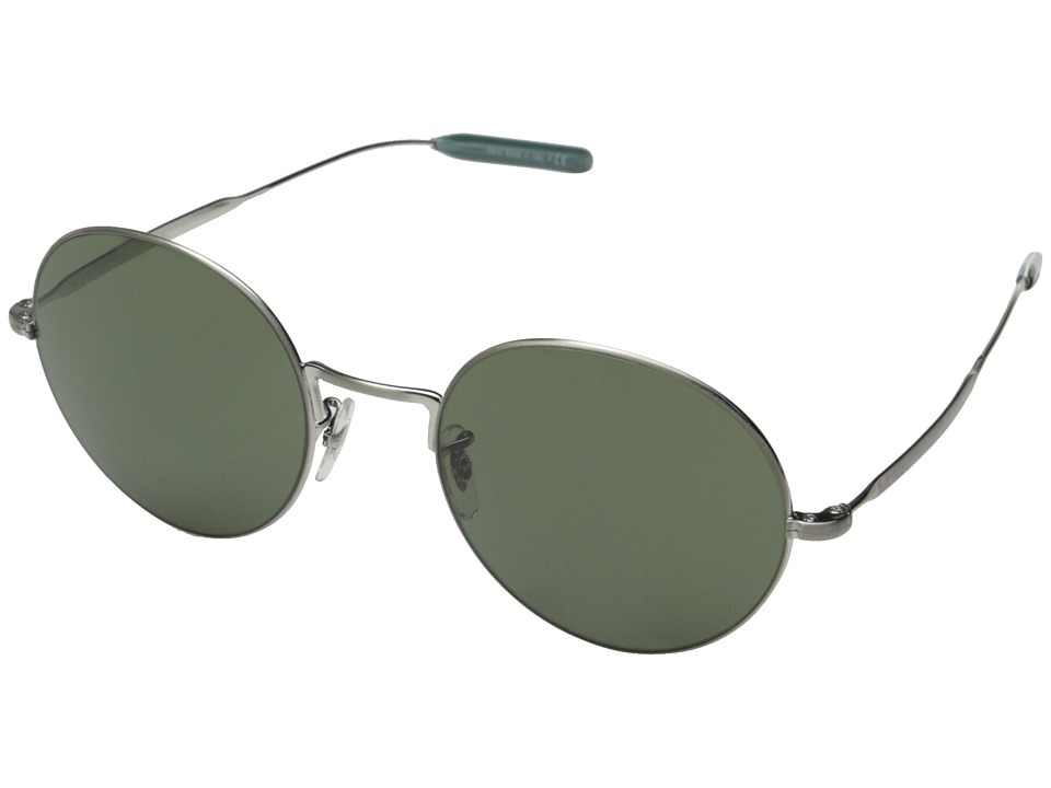 Paul Smith Clarefield Brushed Silver/Central Grey Fashion Sunglasses
