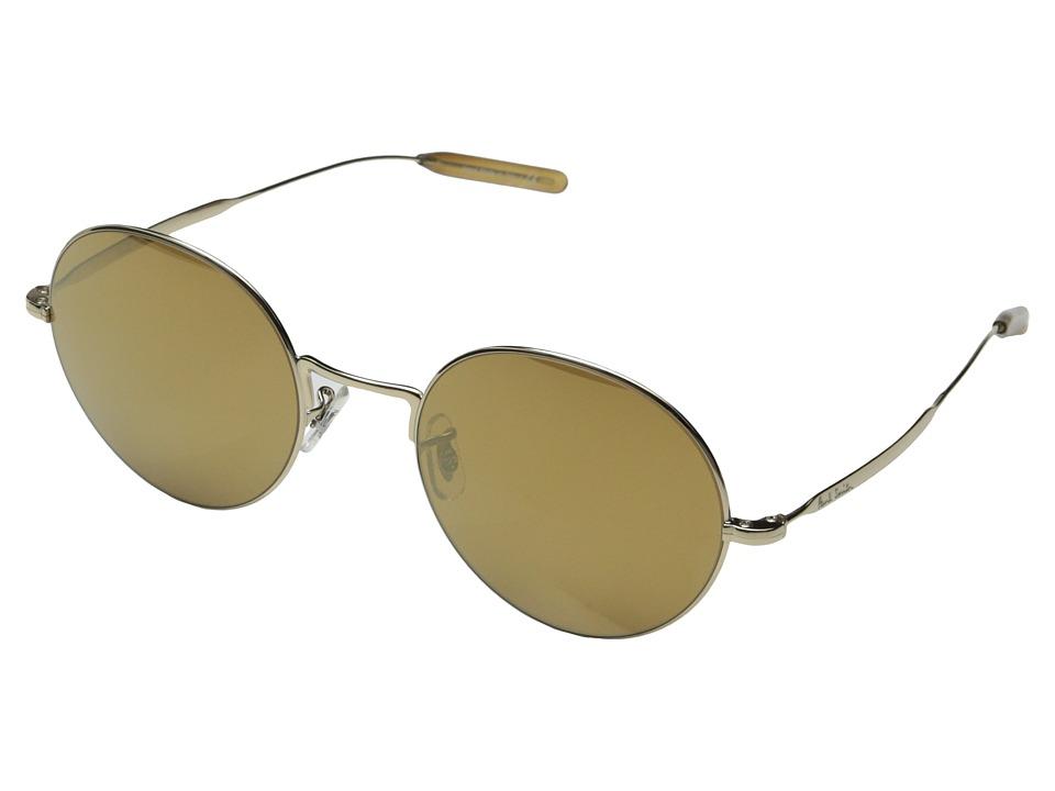 Paul Smith Clarefield Gold/Gold Mirror Fashion Sunglasses