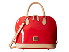 Dooney & Bourke Patent Zip Zip Satchel