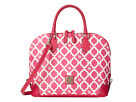 Dooney & Bourke Sanibel Canvas Zip Zip Satchel