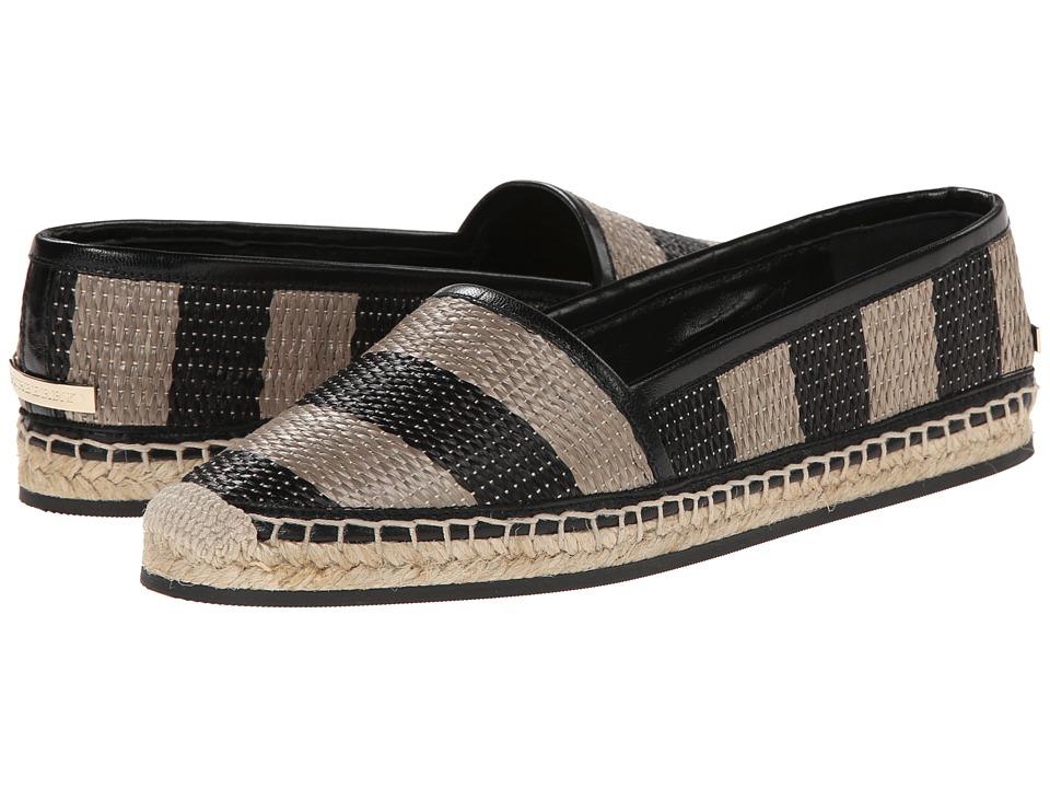 Burberry Hodgeson Black/Honey Womens Slip on Shoes