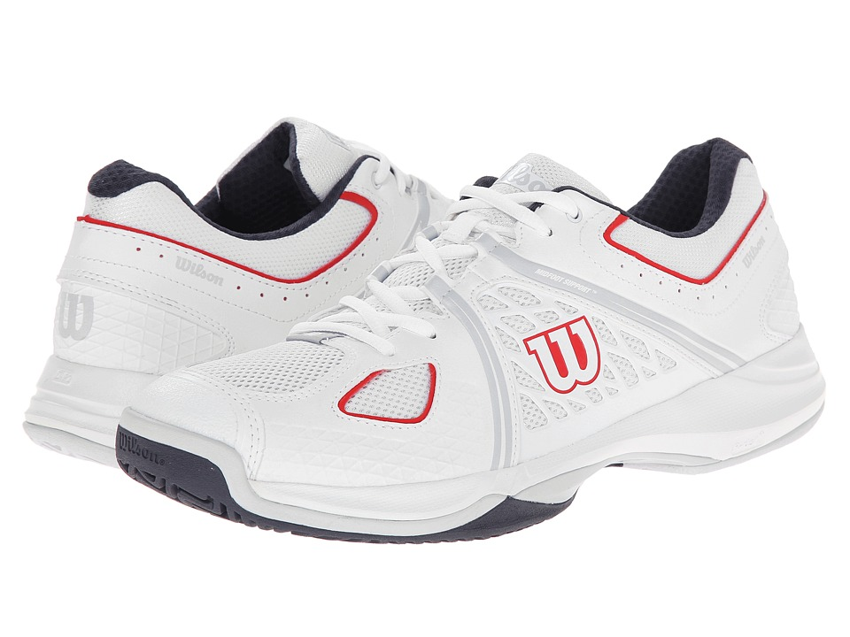 Wilson Nvision Gray/Coal Mens Tennis Shoes