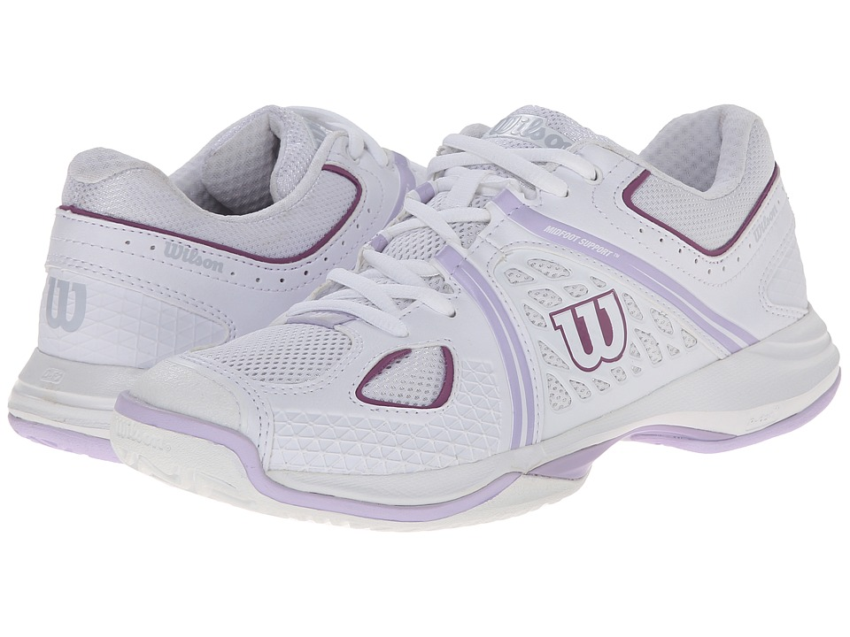 Wilson Nvision White/Violet Womens Tennis Shoes