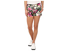 Loudmouth Golf Vintage Pink Flamingos Mini Shorts