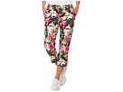 Loudmouth Golf Vintage Pink Flamingos Golf Capri